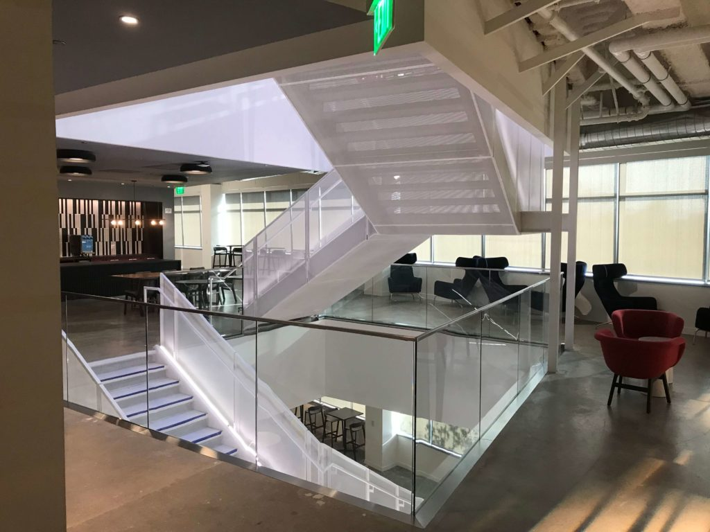 HDI Railings at Google Sunnyvale