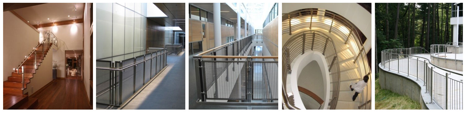 Railing Glass Infill Panels